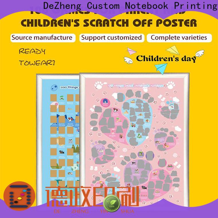 Dezheng New scratch off poster Supply