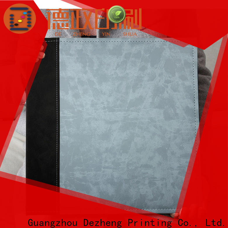 Dezheng looseleaf self adhesive photograph albums Supply for gift