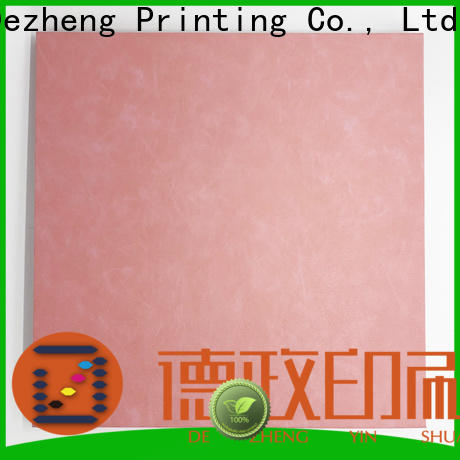 Dezheng looseleaf self adhesive photo albums factory for friendship