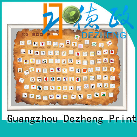 Dezheng latest book scratch poster manufacturers For movies collect