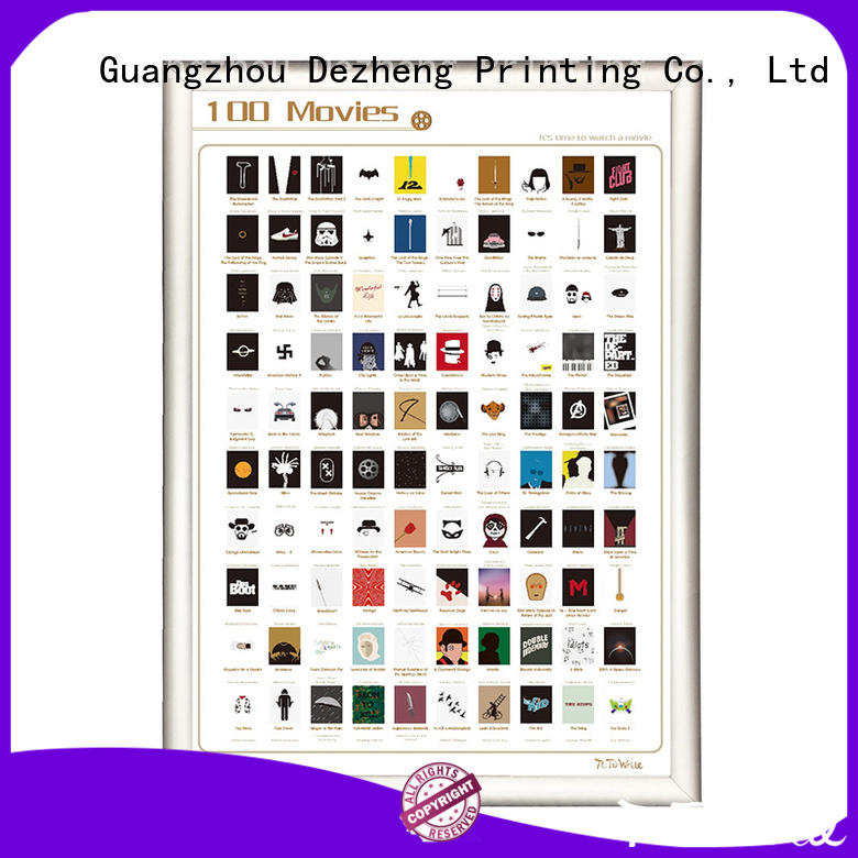 Dezheng at discount book scratch poster sm001 For movies collect