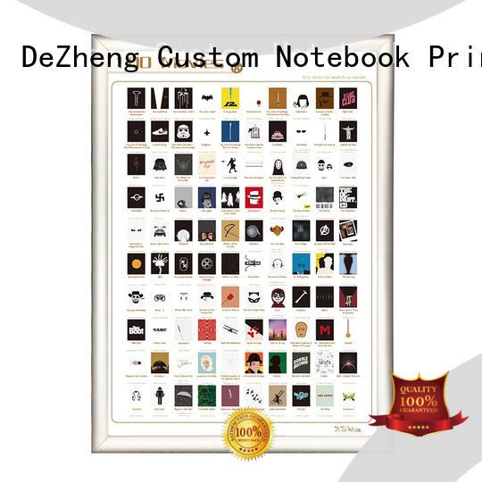 list book scratch poster off For Dezheng