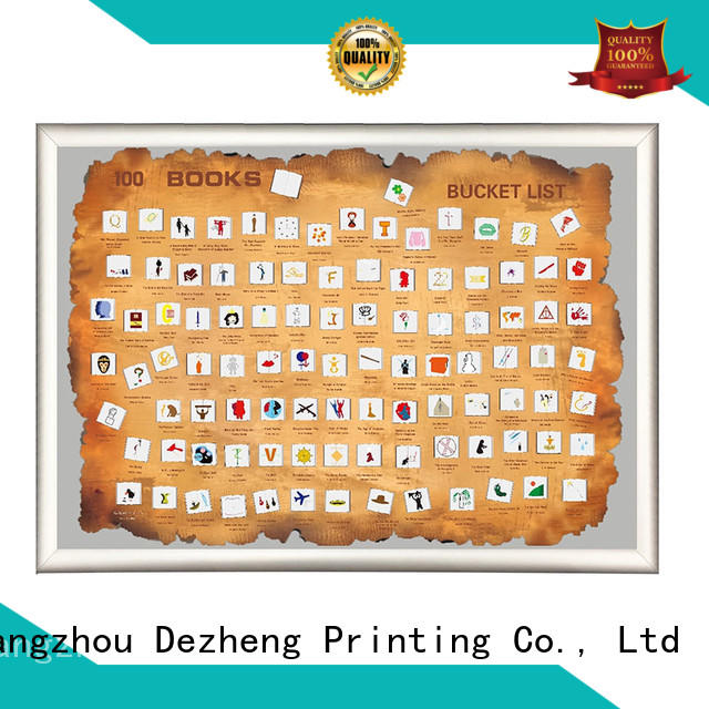 Dezheng movies bucket list poster Suppliers For movies collect