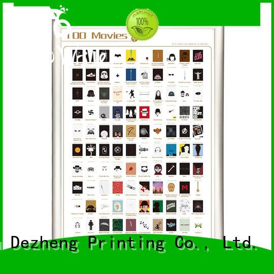 Dezheng bucket book scratch poster supplier For