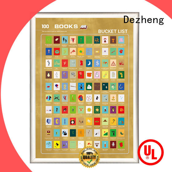 Dezheng movies 100 books factory For movies collect