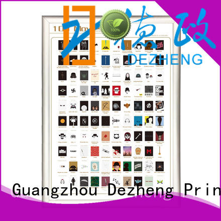 Dezheng Best scratch off movies Supply for movie collect