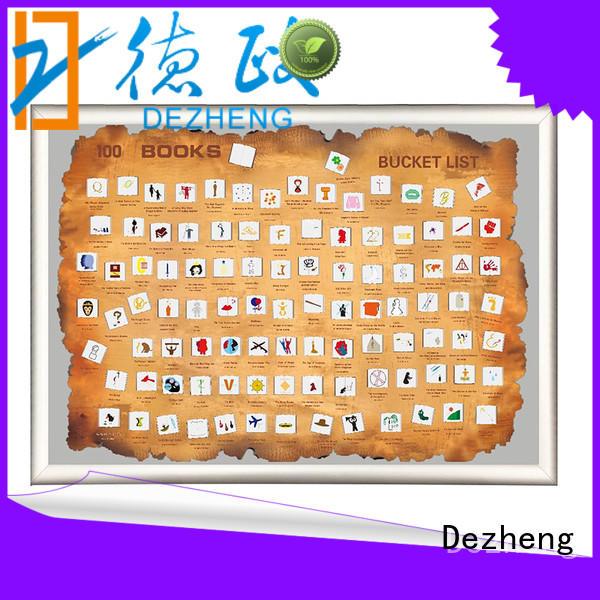 Dezheng must book scratch poster For