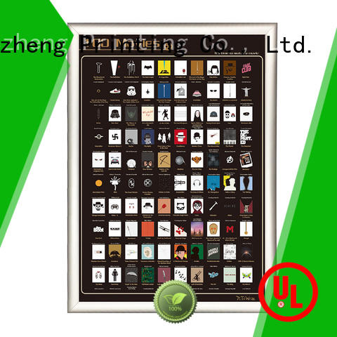 Dezheng on-sale 100 movies scratch off poster free sample For bucket list