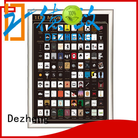 Dezheng off book scratch poster OEM For