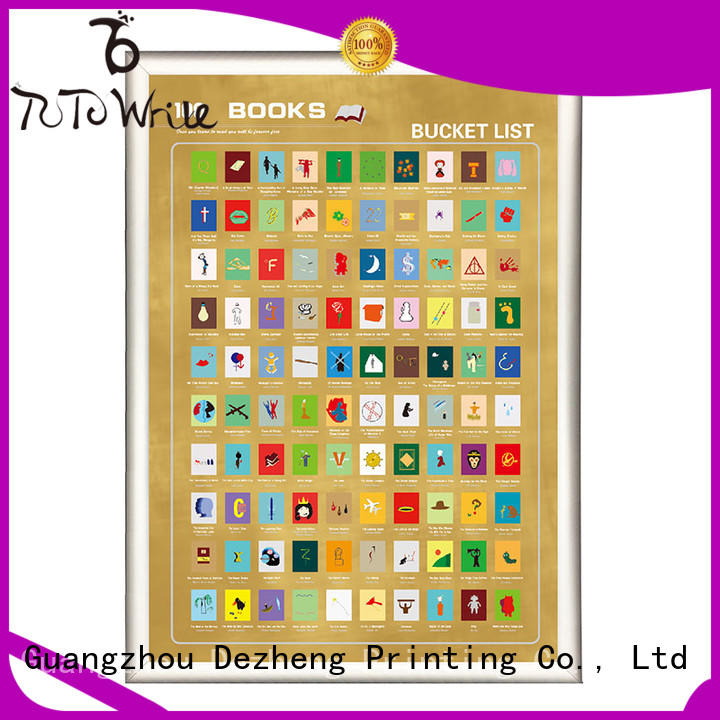 poster scratch off movies bucket for movie collect Dezheng