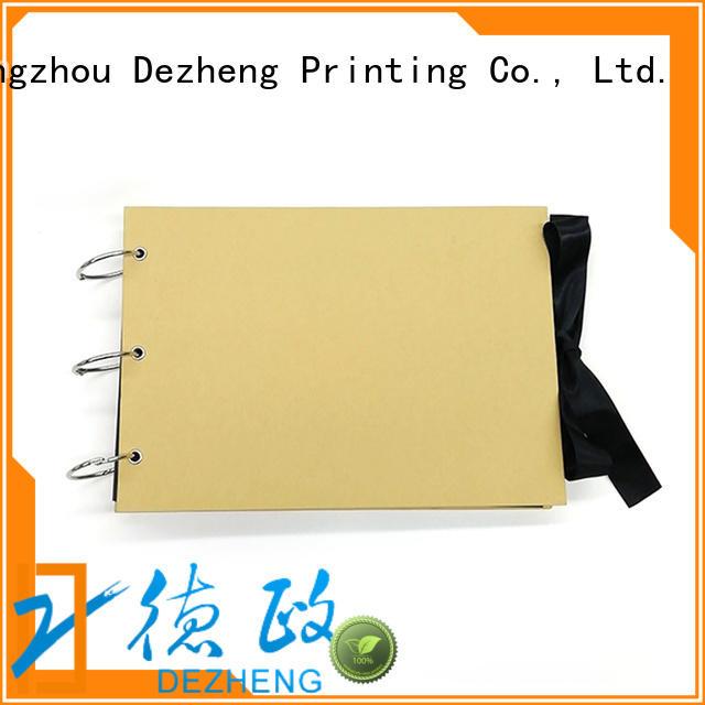 Dezheng paper Bulk Buy Scrapbooks company For Gift