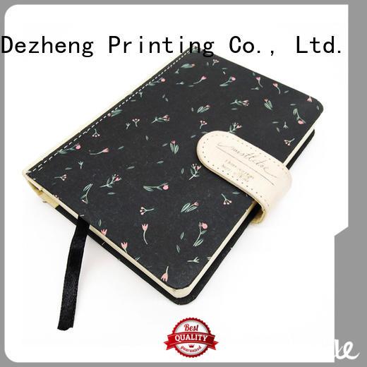 Dezheng a5 custom printed notebooks free sample For journal