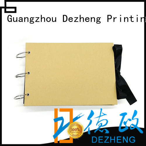 Dezheng album Scrapbook Wholesale Suppliers free sample For Gift