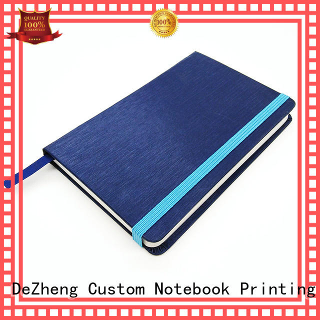 planner custom hardcover journal supplier For journal Dezheng
