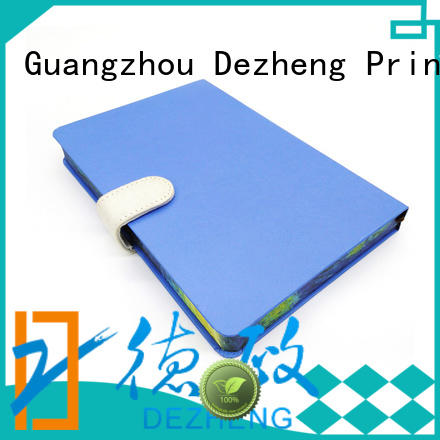 Dezheng durable custom hardcover notebook for business For note-taking