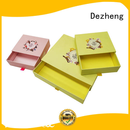 Dezheng custom paper box jewelry get quote