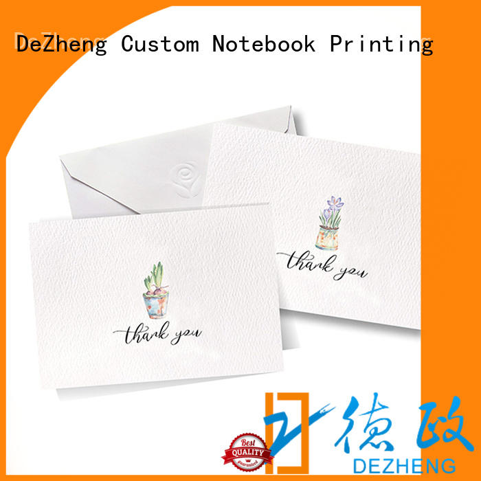 Latest custom holiday greeting cards gold factory for festival