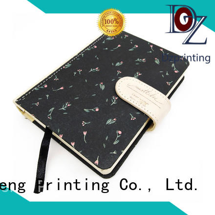 Dezheng cover hardback notebook manufacturers For note-taking