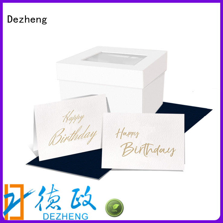 Dezheng at discount custom birthday cards customization For birthday