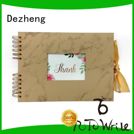 Dezheng scrapbook photo album scrapbook company For memory saving