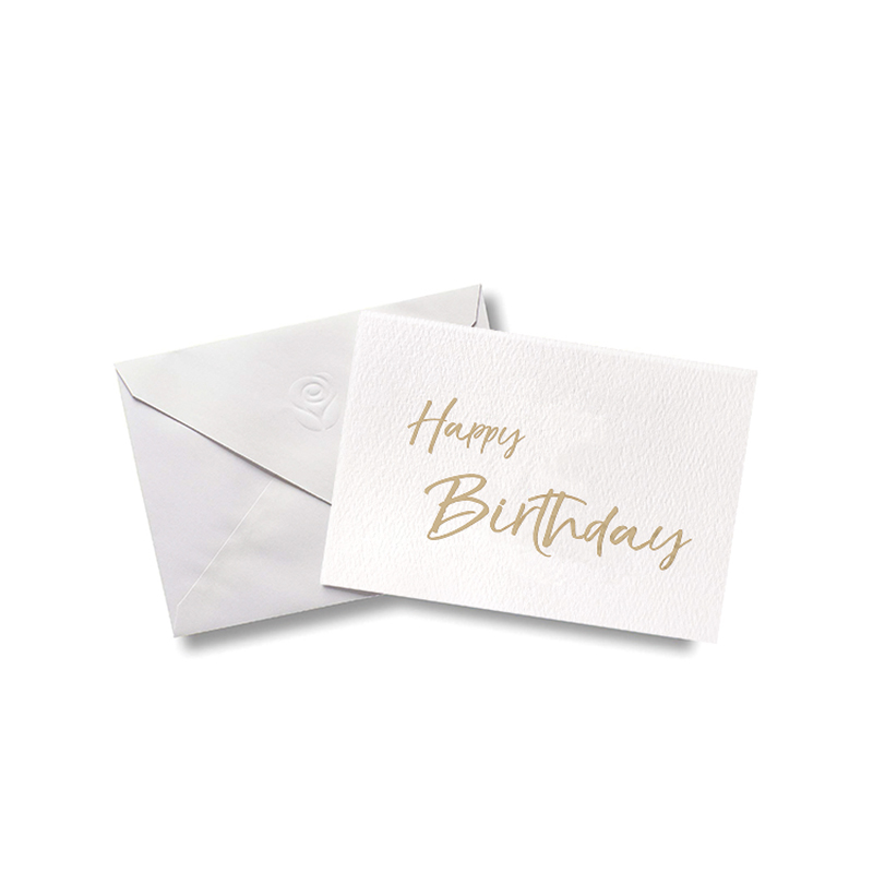 High-quality personalised birthday cards embossed For gift card-2
