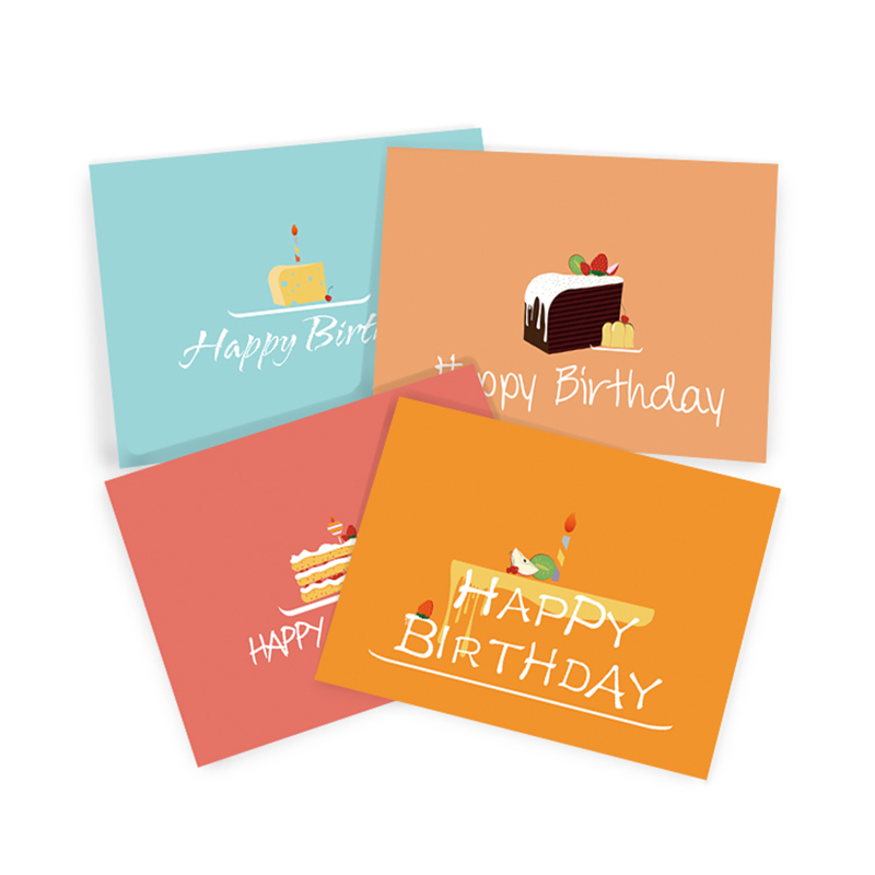 Dezheng durable happy birthday wishes greeting cards for business For gift card-1