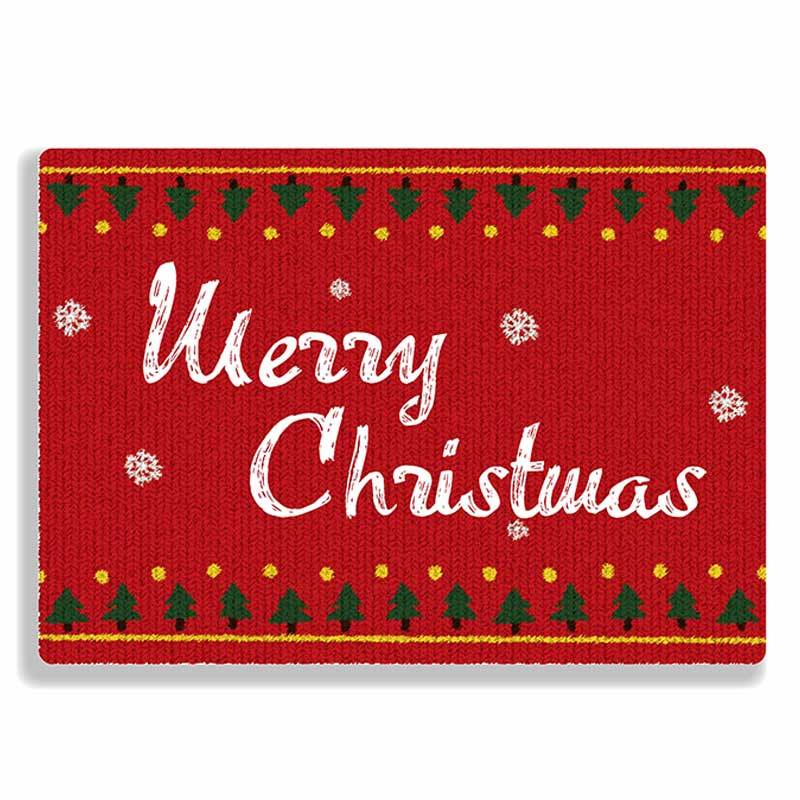 Original Design Sweater Type Red Merry Christmas Greeting Cards With White Envelope