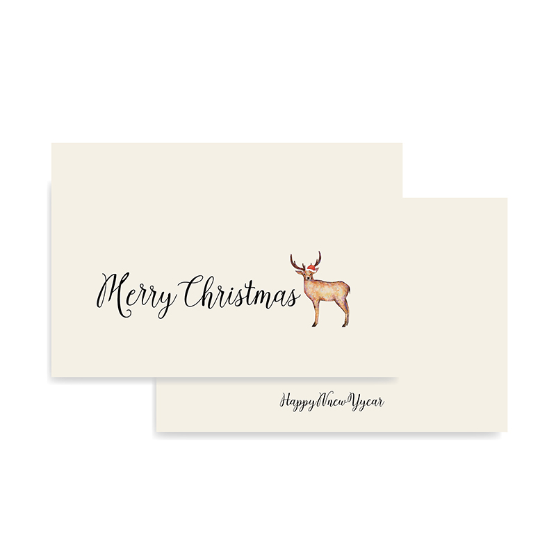 latest custom xmas cards animal Suppliers-1