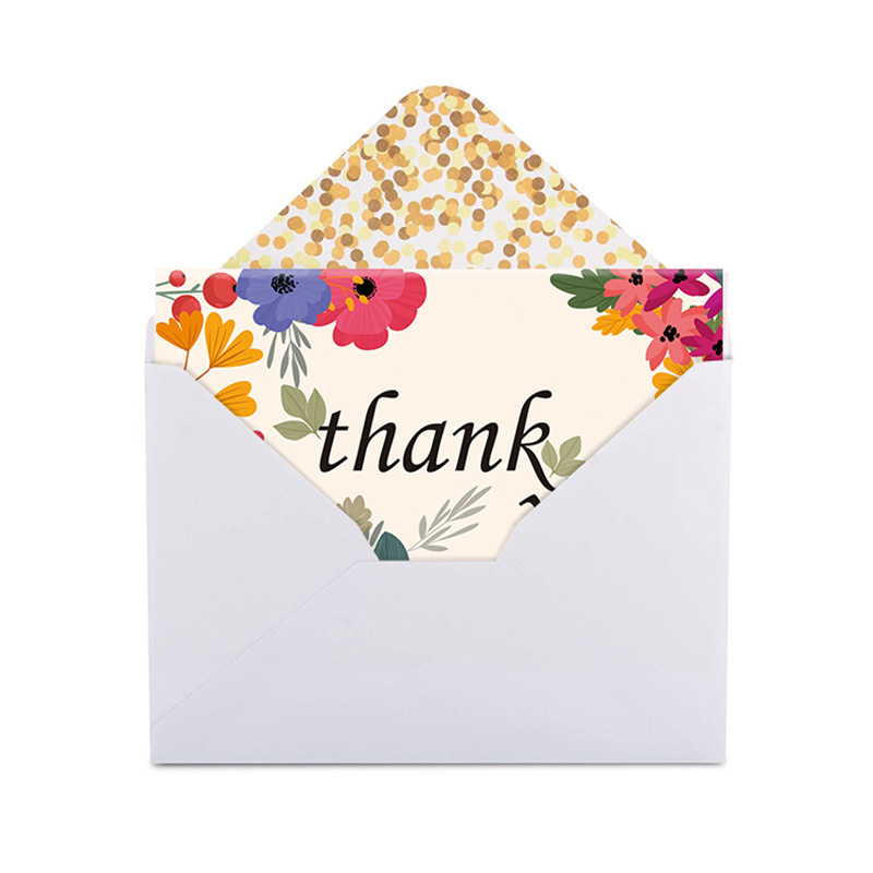 Dezheng envelope professional thank you cards for gift-2