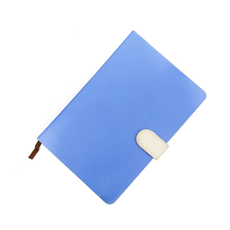 A5 Blue Color Case Bound Paper Hardcover Journal With Custom Pages