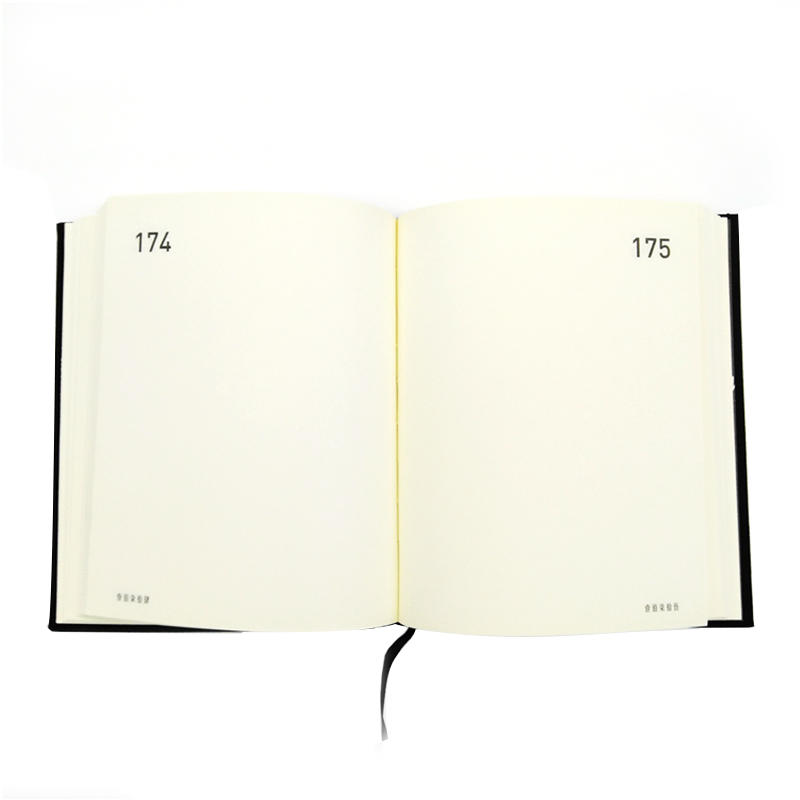 Hard Cover A4 A5 A6 Custom Refillable Writing Business Planner Notebook With Elastic Band