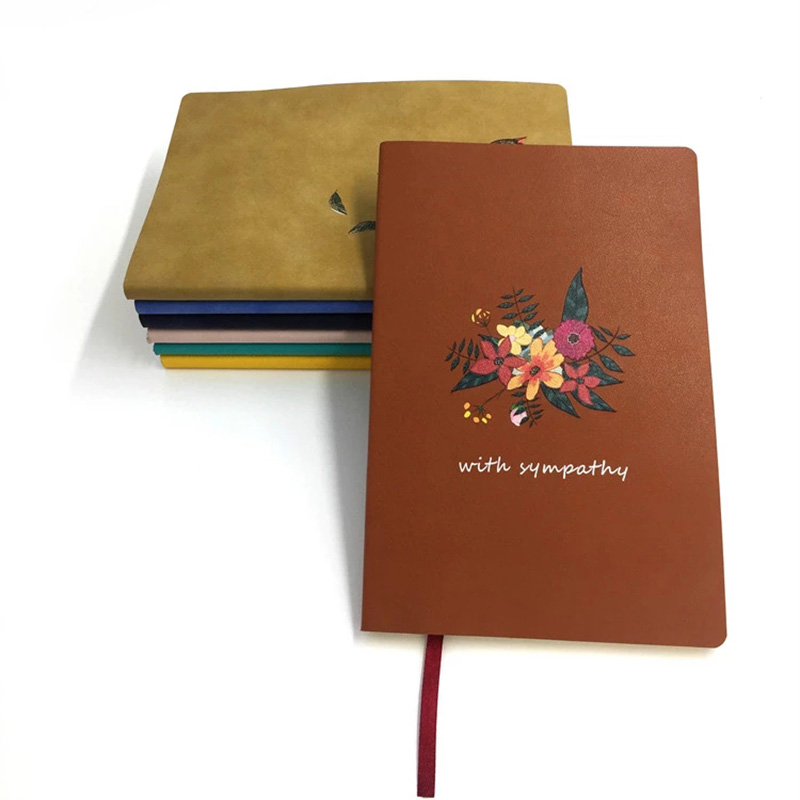 Dezheng bookmark Leather Journal Manufacturer customization for note taking-1