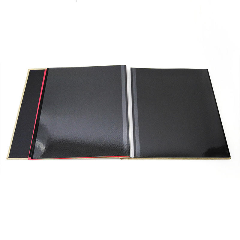 12x12 Linen Cover Girl Beautiful Photo Album With Adhesive Pages