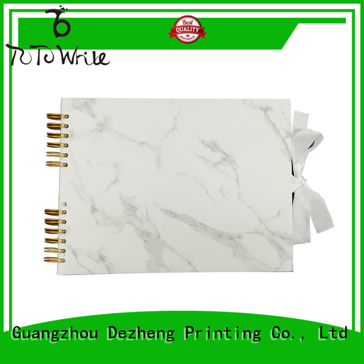 Dezheng high-quality personalized leather photo albums customization For photo saving