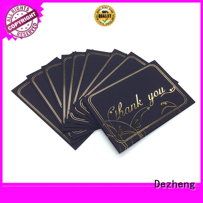 Dezheng New greeting card with envelope customization for friendship