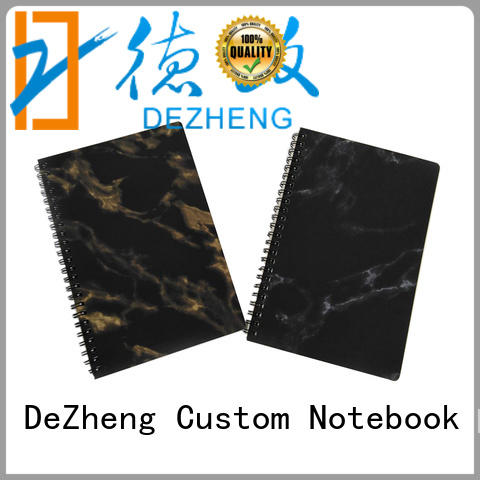 Dezheng portable customized notebooks notebook for journal