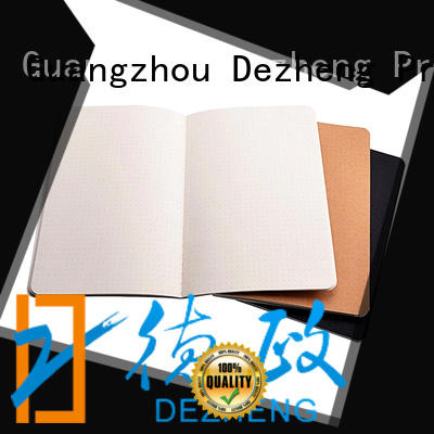 Dezheng notebooks blank paper notebook supplier For meeting