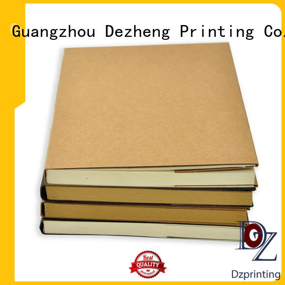 Latest Custom Journal Manufacturers free design factory For notebook printing