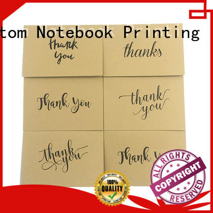 Dezheng thank professional thank you cards OEM for gift