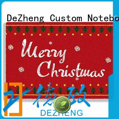 Dezheng latest christmas greeting card factory for Christmas gift