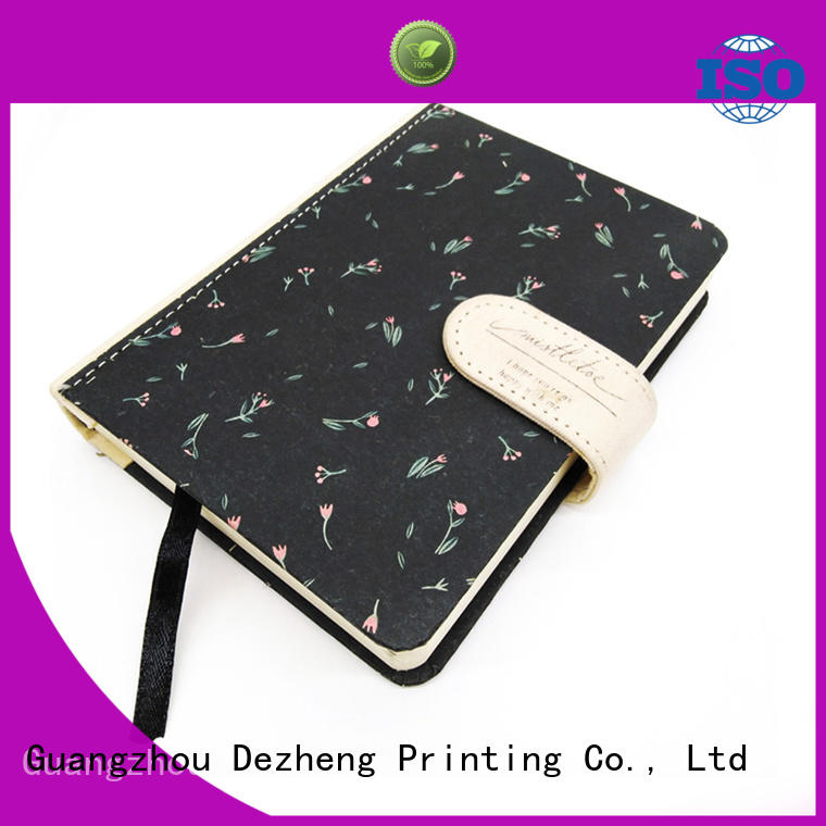Dezheng leather Exercise Notebook Manufacturer customization For journal