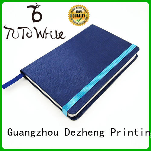 bound Writing Notebook blue For note-taking Dezheng