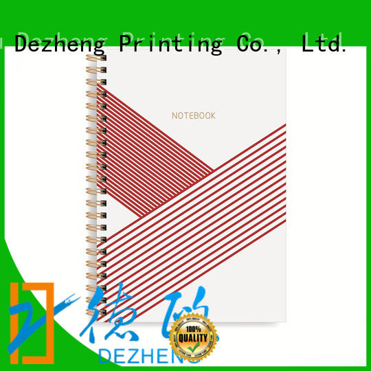 Breathable custom printed notebooks a5 ODM for career