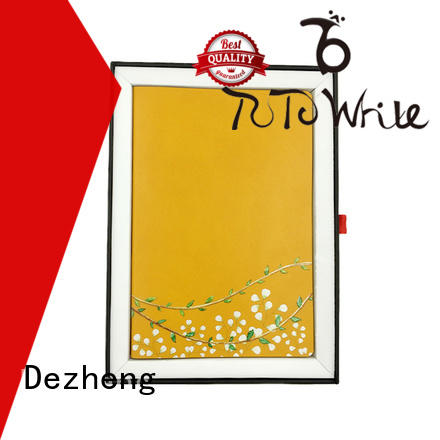 Dezheng printed leather bound notebook get quote for note taking