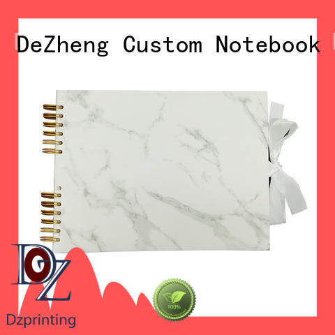 Dezheng durableBest leather scrapbook album for business For memory saving