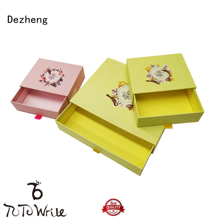 book cardboard packing boxes OEM for gift Dezheng