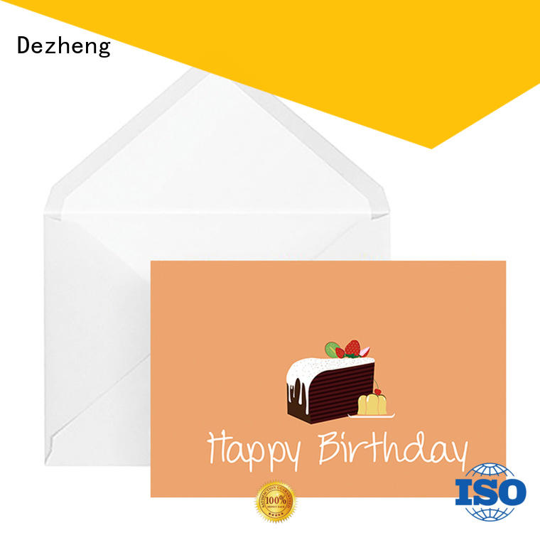 Dezheng Top personalised birthday cards