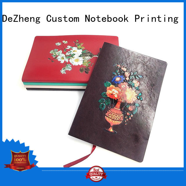 Dezheng gift Leather Bound Journals Manufacturers get quote for note taking