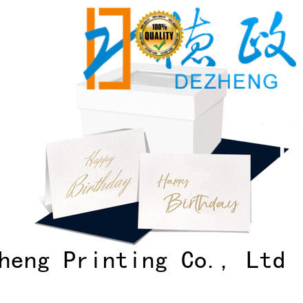 Dezheng on-sale custom made birthday cards paper For birthday