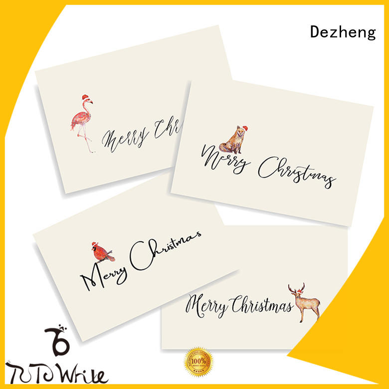 funky christmas card sale animal ODM For festival gift